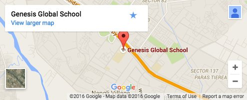 Genesis Location Map